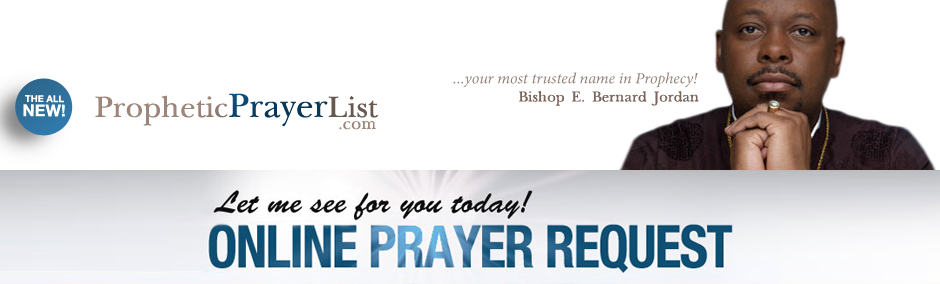 Prophetic Prayerlist