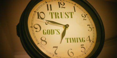 Trust God's timing and avoid missed opportunities.
